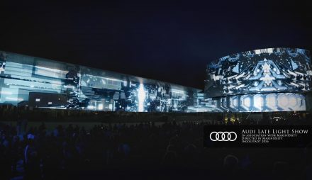 audi late light show – ingolstadt 2016