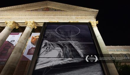 Glassconcrete installation – Budapest 2014