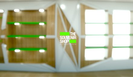 the souvenir shop – visual ident and retail design